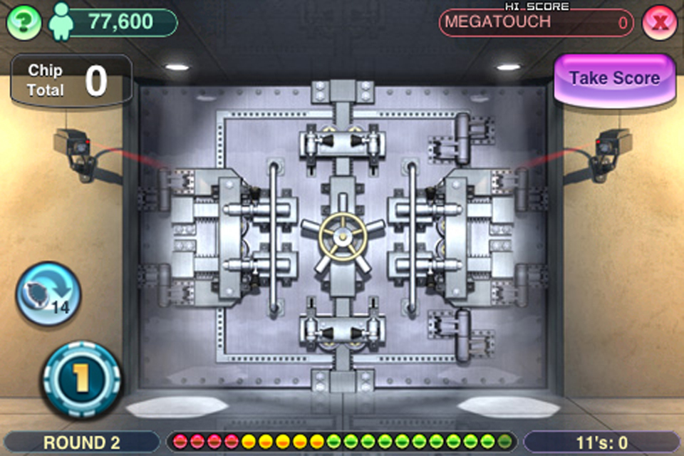 Screenshot Megatouch Lucky 11′s